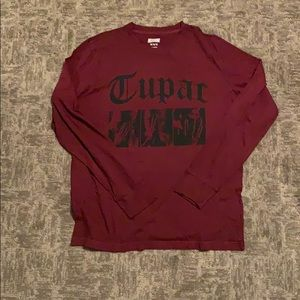 Men's American Eagle Tailgate TUPAC Graphic Tee